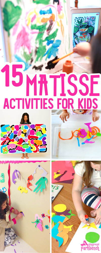 Projects For Kids  15 Vibrant Matisse Art Projects for Kids That Really Wow