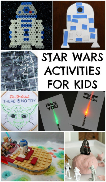 Projects For Kids  Star Wars Moon Dough In The Playroom