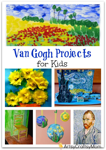 Projects For Kids  Top 10 Van Gogh Projects for Kids Inspire your Heart