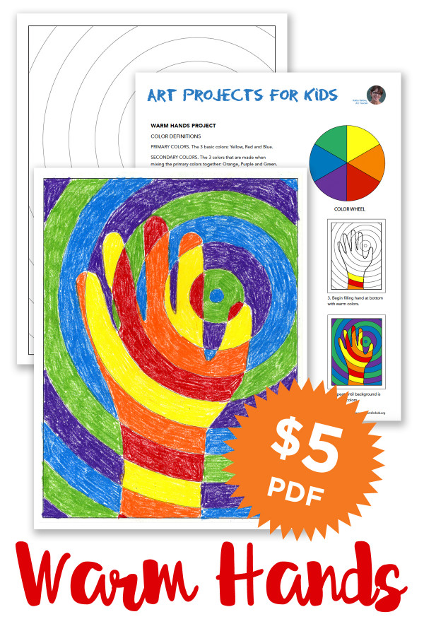 Projects For Kids  Warm Hands Art Projects for Kids