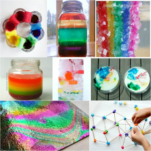 Projects For Kids  25 Rainbow Activities for Kids Playdough To Plato