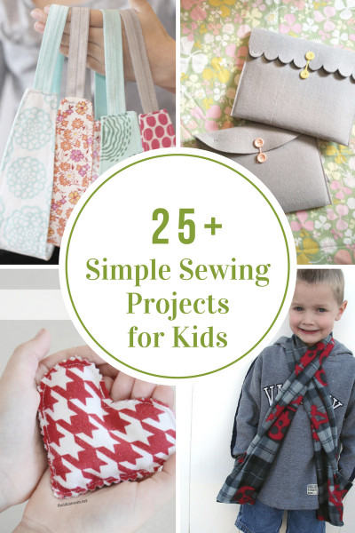 Projects For Kids  Simple Sewing Projects for Kids The Idea Room