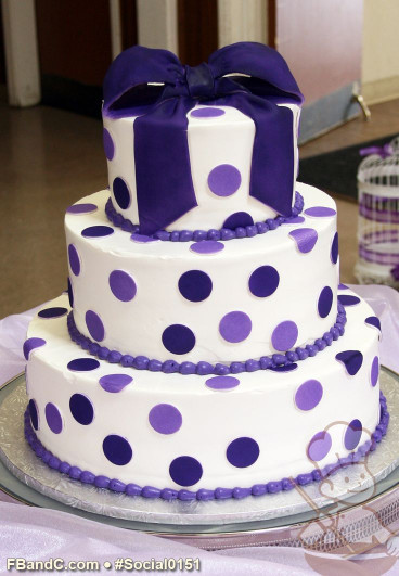 Purple Birthday Cake  39 best images about Purple Birthday Cakes on Pinterest