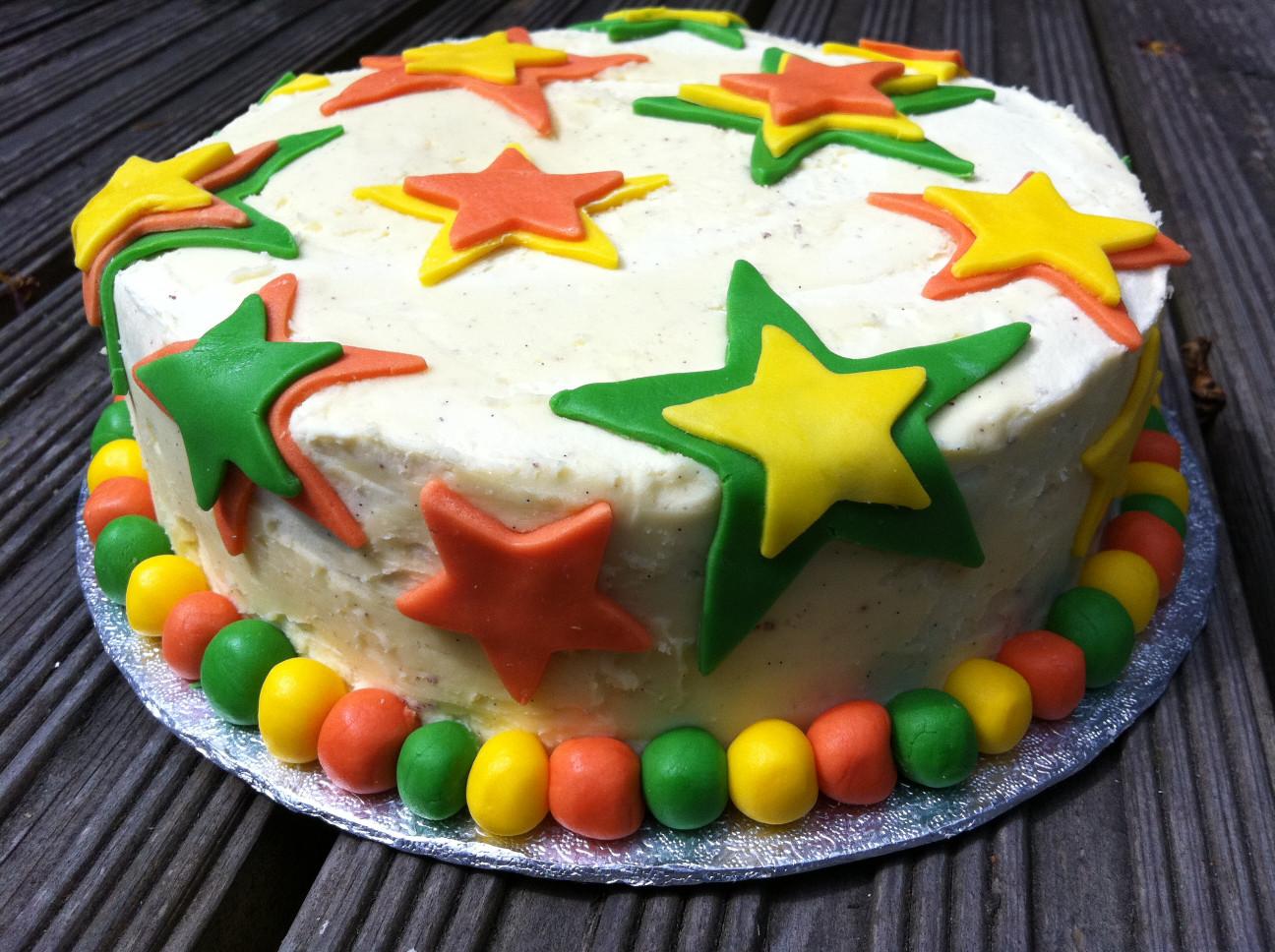 Simple Birthday Cake  Simple chocolate birthday cake with white chocolate
