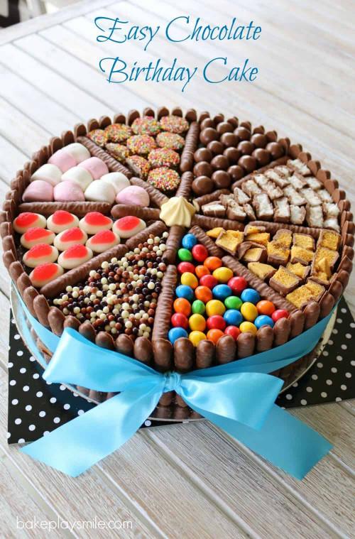 Simple Birthday Cake  Easy Chocolate Birthday Cake lies chocolates & more