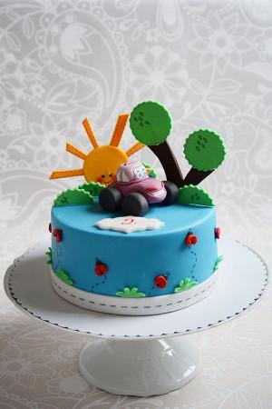 Simple Birthday Cake  Really Easy Birthday Cake Recipe for Busy Mums