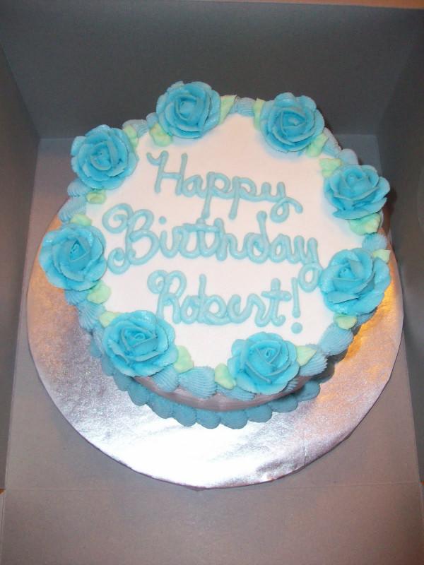 Simple Birthday Cake  Morgan s Cakes Simple Birthday Cake