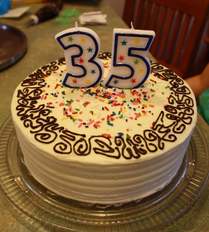 Simple Birthday Cake  Party Cakes Simple Birthday Cake