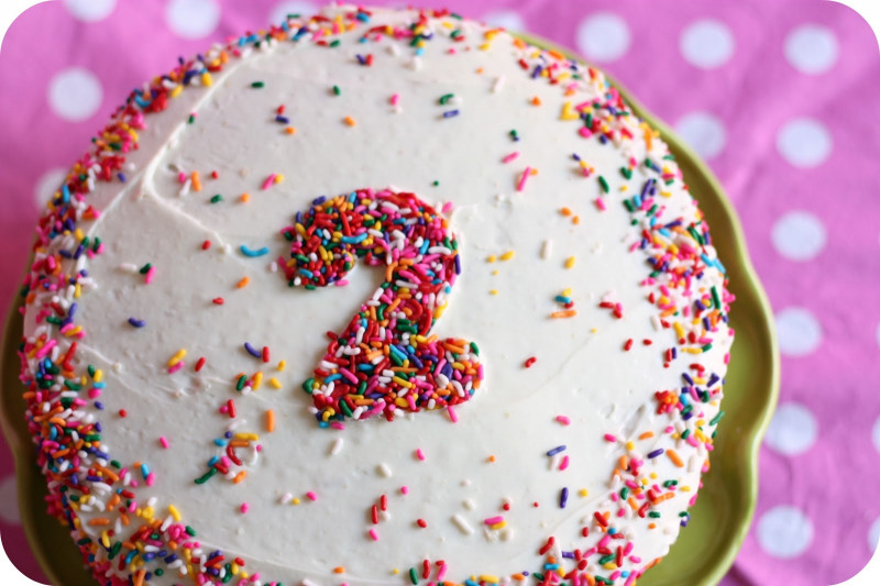 Simple Birthday Cake  Simple Homemade Birthday Cake littlelifeofmine