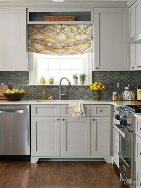 Small Kitchen Cabinets  Best Colors for Small Kitchens