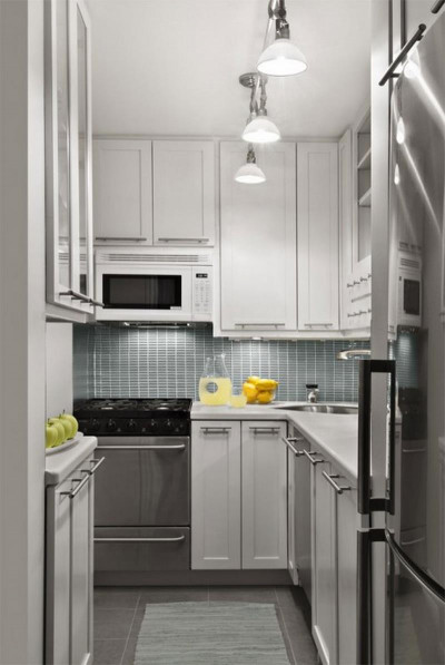 Small Kitchen Cabinets  22 Jaw Dropping Small Kitchen Designs