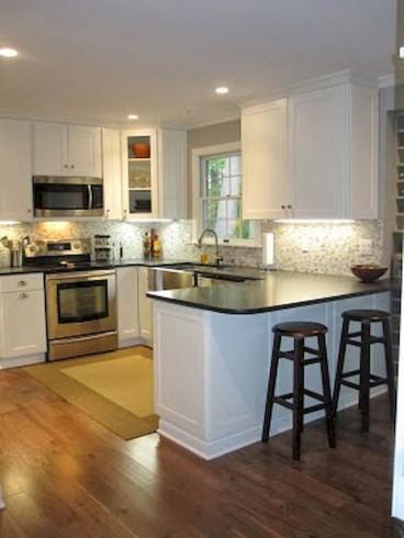 Small Kitchen Cabinets  Best 25 Small kitchens ideas on Pinterest