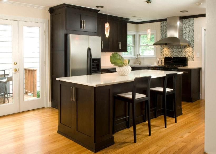 Small Kitchen Cabinets  Kitchen Design Tips For Dark Kitchen Cabinets