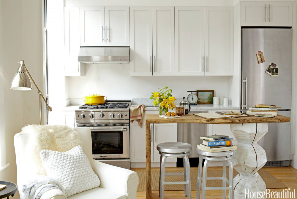 Small Kitchen Cabinets  17 Best Small Kitchen Design Ideas Decorating Solutions