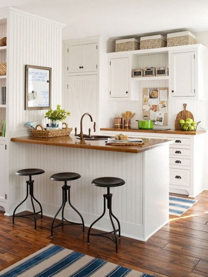 Small Kitchen Cabinets  Modern Small Kitchens 2018 – 2019 Latest Trends and Ideas
