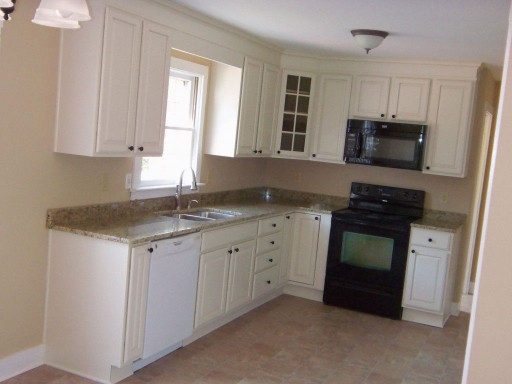 Small Kitchen Design Layouts  Good idea for Mark s remodel but reversed L Shaped