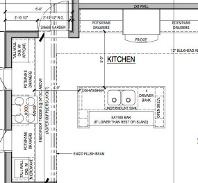 Small Kitchen Floor Plans  Kitchen Floor Plan Layouts With Island Deluxe Design