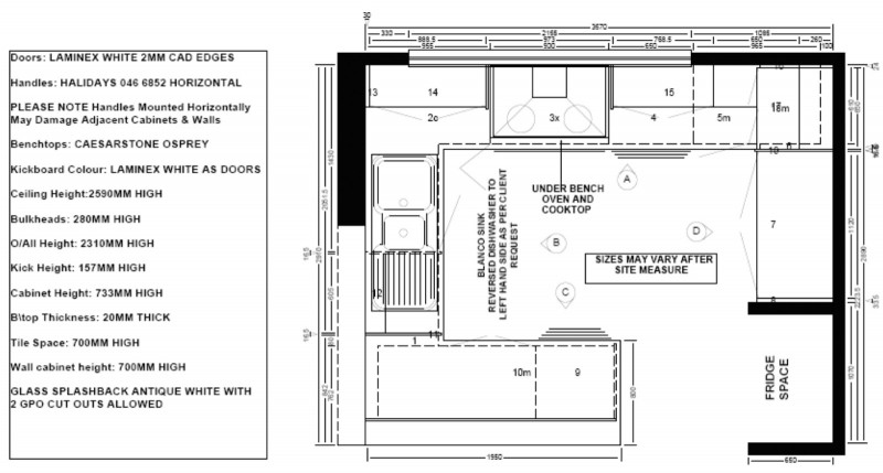 Small Kitchen Floor Plans  Building Our New Home Kitchen Plans