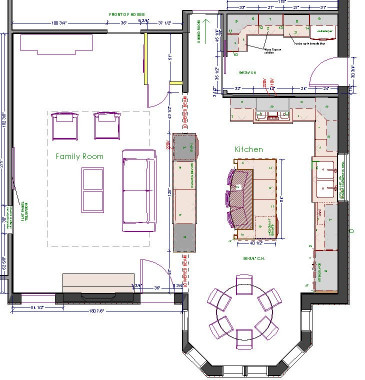 Small Kitchen Floor Plans  Kitchen Design Floor Plans