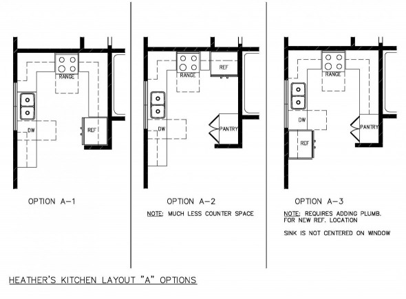Small Kitchen Floor Plans  Small Kitchen Design Layout for Home Owners Home