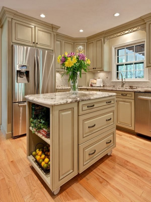 Small Kitchen Island Ideas  48 Amazing space saving small kitchen island designs