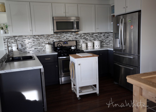 Small Kitchen Islands  Ana White