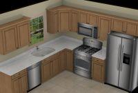 Small Kitchen Layouts Inspirational Foundation Dezin & Decor 3d Kitchen Model Design
