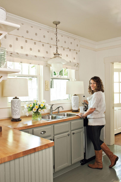 Small Kitchen Makeovers  Before and After Kitchen Makeovers Southern Living