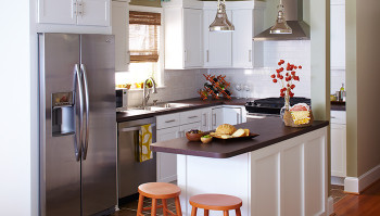 Small Kitchen Makeovers  Small Bud Kitchen Makeover Ideas