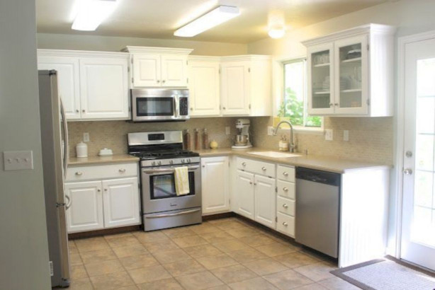Small Kitchen Makeovers  Small Kitchen Redo A Bud – Wow Blog