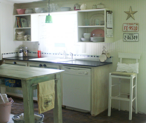 Small Kitchen Makeovers  Small Kitchen Makeover in a mobile home