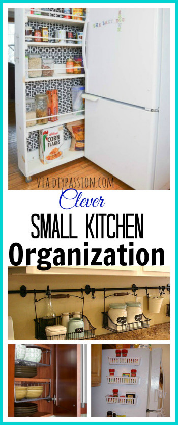 Small Kitchen organization Inspirational 10 Ideas for organizing A Small Kitchen A Cultivated Nest
