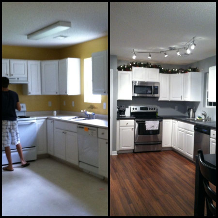 Small Kitchen Remodel Before And After  Small Kitchen Remodel Before And After on Pinterest