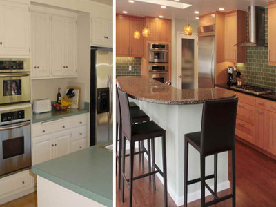 Small Kitchen Remodel Before And After  Home Remodeling Small Kitchen Remodel Before And After