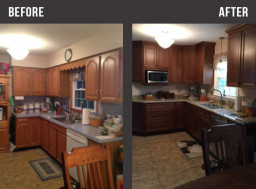Small Kitchen Remodel Before And After  Kitchen Cabinets Hagerstown Md – Wow Blog
