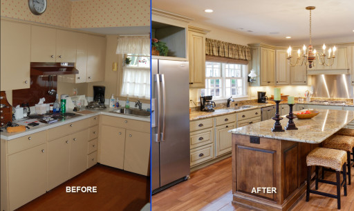 Small Kitchen Remodel Before And After  Remodeling a Small Kitchen for a Brand New Look Home