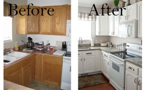 Small Kitchen Remodel Before And After  A Few of My Favorite Things Living Room & Kitchen Before