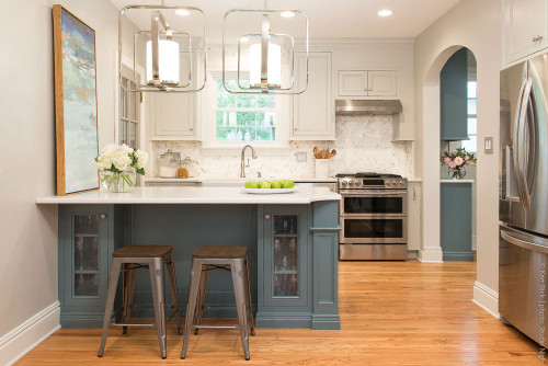 Small Kitchen Remodels  Before After Small Kitchen Remodel Karr Bick Kitchen