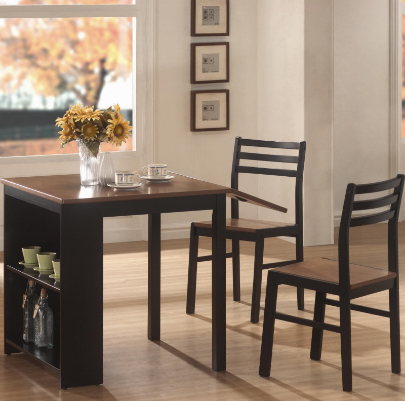Small Kitchen Table  e Hundred Home Modern Kitchen Tables for Small Spaces