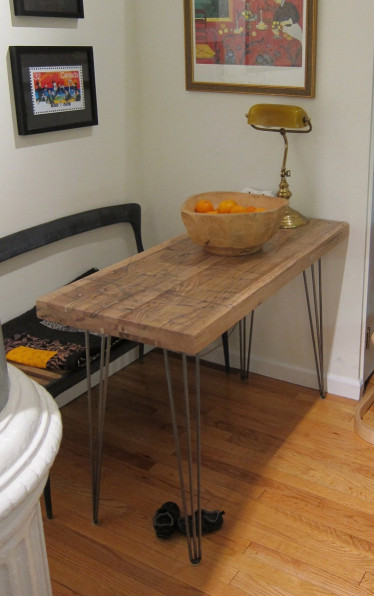 Small Kitchen Table Awesome Small Kitchen Table Reclaimed Oak Hairpin Legs