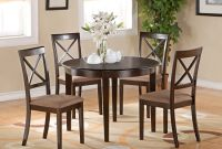 Small Kitchen Table Set Inspirational 5 Pc Small Kitchen Table Set Round Table and 4 Dining