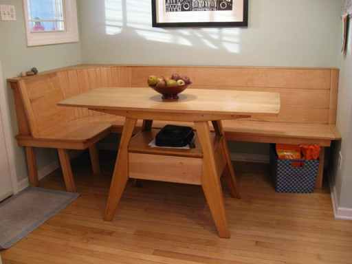 Small Kitchen Table With Bench  Wooden kitchen tables corner kitchen table small kitchen