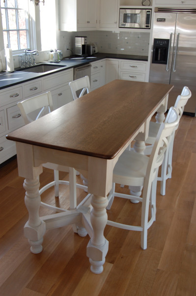 Small Kitchen Table With Bench  Millwork