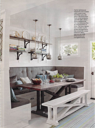 Small Kitchen Tables With Bench  1000 ideas about Corner Breakfast Nooks on Pinterest