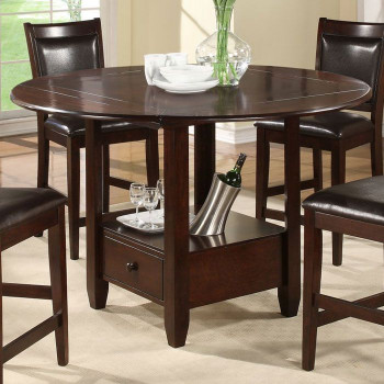 Small Kitchen Tables With Bench  Morgan Counter Height Drop Leaf Table