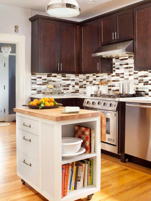 Small Kitchen with island Luxury 48 Amazing Space Saving Small Kitchen island Designs