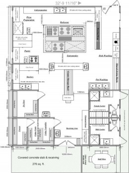 Small Kitchens Floor Plans Fresh Restaurant Kitchen On Pinterest