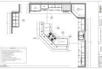 Small Kitchens Floor Plans Luxury Sample Kitchen Floor Plan