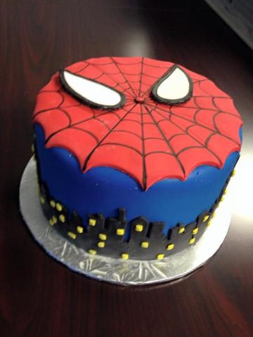 Spiderman Birthday Cake  Spiderman cake My Cakes Pinterest