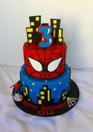 Spiderman Birthday Cake  Best 25 Spiderman birthday cake ideas on Pinterest